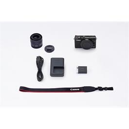 Canon EOS M100 Body With EF-M 15-45mm f/3.5-6.3 IS STM Lens - Black Thumbnail Image 14